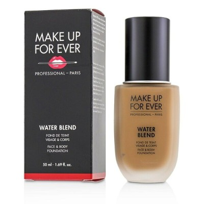 Make Up For EverWater Blend Face & Body Foundation - # Y445 (Amber)メイクアップフォーエバーWater Blend Face &...