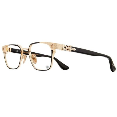 CHROME HEARTS NASTYFREEZE MATTE BLACK GOLD PLATED 53-21-142 クロムハーツ アイウェア 眼鏡