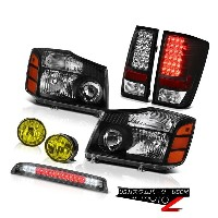 ヘッドライト For 2004-2015 Titan SE Left Right Headlight Tail Light Bumper Fog High LED Smoke 2004年...