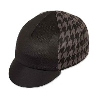 PACEPACE メッシュサイクルキャップ HOUNDS TOOTH BLK/GRY / 21-2851