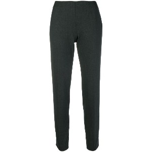 Piazza Sempione slim-fit cigarette trousers - グレー