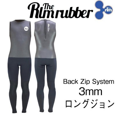 最新2018モデル THE RLM RUBBER LIMITED CARDIFF L/John Back Zip 3mm WET SUITS