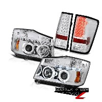 ヘッドライト For 2004-2015 For 2004-2015 Titan Halo LED Projector Headlight Tail Lights 2004年から2015年の間...