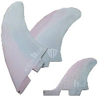 FCS2 FIN Limited サーフィン フィン リミテッドカラー ピンク/グレーShaperSeries MR PC Twin+Stabilizer Set Color Pink...