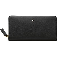 レディース MONTBLANC Long Wallet 8cc zip around 財布  ブラック