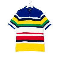 Ralph Lauren Kids striped polo shirt - Unavailable
