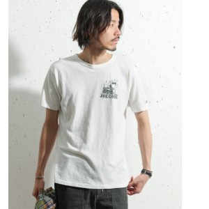 Sonny Label Champion SNOOPY×Champion T-SHIRTS【アーバンリサーチ/URBAN RESEARCH メンズ, レディス Tシャツ・カットソー オフホワイト...