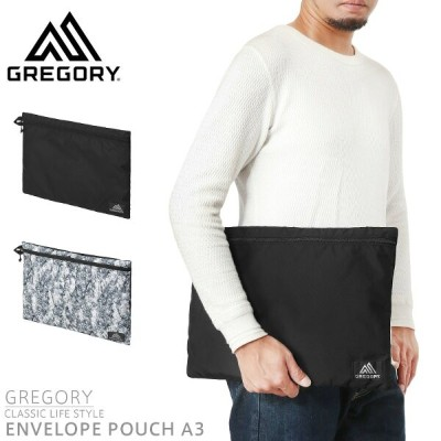 GREGORY グレゴリー ENVELOPE POUCH A3 エンベロープポーチ A3 【Sx】 クリスマス プレゼント 記念 ブランド