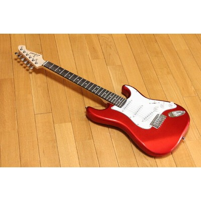 ARIA Legend LST-MINI CA(Candy Apple Red) ミニエレキギター チューナープレゼント!