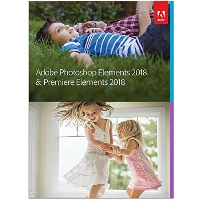 Adobe Photoshop Elements 2018 & Premiere Elements 2018 英語版 Windows/Macintosh版 通常版 [並行輸入品]