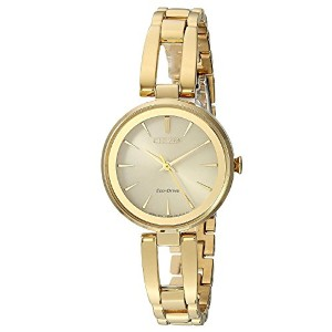 Citizen Watches Womens em0638–50p eco-drive One Size ゴールドトーン