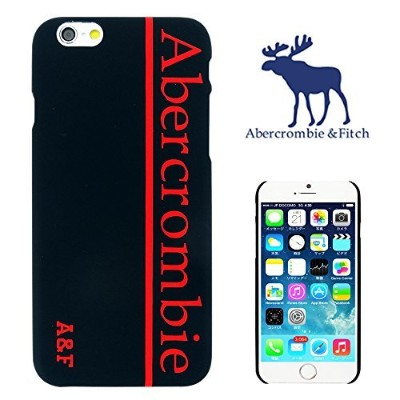 【 Abercrombie&Fitch 】 iPhone6用ケース(4.7インチ) アバクロンビー&フィッチ ロゴ デザイン a&f-002