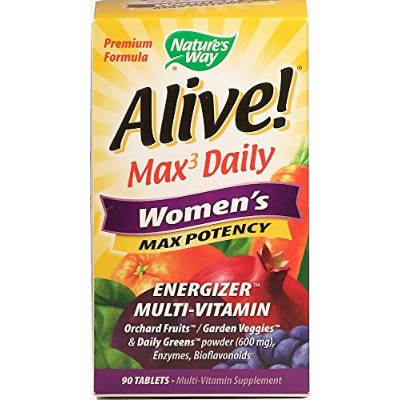 Alive Women's Multi - 90 Tablets by Nature's Way
