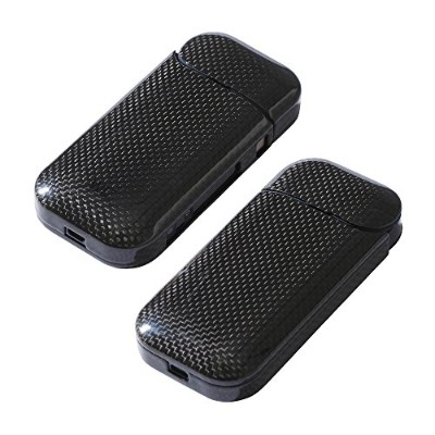 Deff(ディーフ) Carbon Case for IQOS 2.4/2.4 Plus IQOS用カーボン製ケース (Glossy Black)