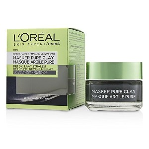 ロレアル Skin Expert Pure Clay Mask - Detoxifies & Clarifies 50ml/1.7oz並行輸入品