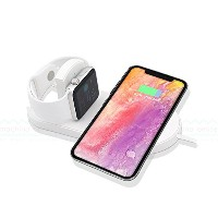 Qi 充電器 急速 iPhone Apple Watch ポータブル ワイヤレス充電 iPhoneX 7.5W Galaxy S8 Note8 10W