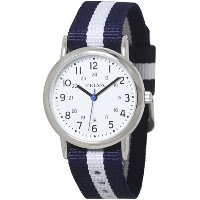 TELVA NATO TYPE BAND WATCH (ネイビー×ホワイト)