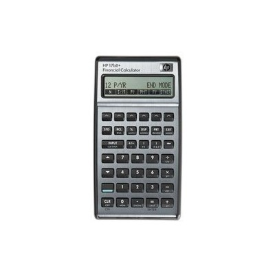 HP 17BII+ Financial Calculator, Silver [輸入品]