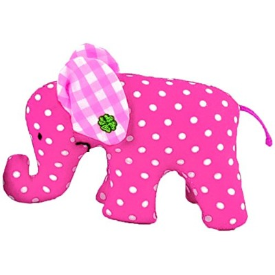 Kathe Kruse Mini Elephant Plush Toy, Pink (Discontinued by Manufacturer) by K?he Kruse [並行輸入品]
