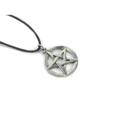 The Pentacle Wiccanコレクションピューターペンダント、
