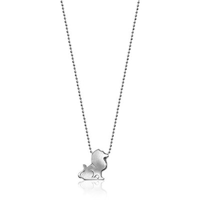 "[アレックスウー]Alex Woo ""Little Signs"" Sterling Silver Lion (Leo) Pendant Necklace, 16"" ネックレス ジュエリー[並行輸入品]"
