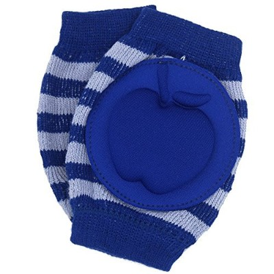 New Baby Crawling Knee Pad Toddler Elbow Pads 805526 Navy-blue by YEAHINSHOP