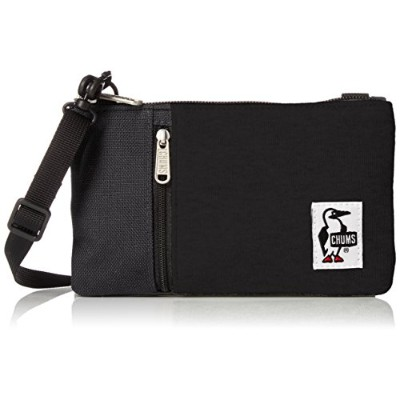 [チャムス]ショルダーバッグ Smart Phone Shoulder Sweat Nylon Black/Charcoal