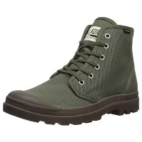 [パラディウム] スニーカー PAMPA HI ORIGINALE OLIVE NIGHT BLACK (326) US 9(27 cm)