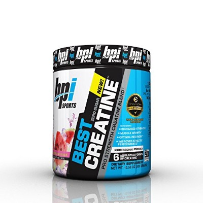 BPI Sports Best Creatine Powder, Watermelon Cooler, 10.58 Ounce by BPI Sports