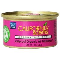 California Scents Spillproof Organic Air Freshener, Coronado Cherry, 1.5 Ounce Canister by...