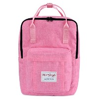 HotStyle Basic Classic - Bestie Cute Waterproof Diaper Bag Backpack for Mom - Pink by hotstyle