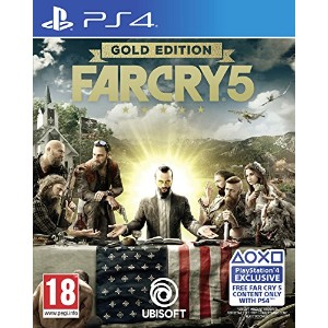 Far Cry 5 Gold Edition (PS4) - Imported UK.