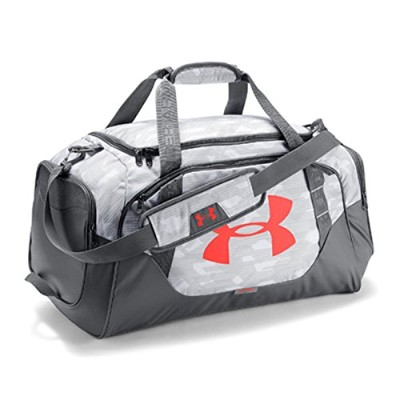 UNDER ARMOUR/ア ンダーアーマー/UA Undeniable Duffle 3.0 MD/ダッフルバッグ スポーツバッグ 【61L】/1300213 (WHITE)