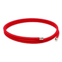 ULTRA COLOR 磁気ネックレス 2mm レーヨン (Red)
