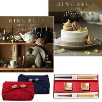 CONCENT・リンベル RING BELL カタログギフト ルミナリィ&ビアンカ+箔一金箔箸セット