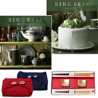 CONCENT・リンベル RING BELL カタログギフト ネプチューン&トリトン+箔一金箔箸セット