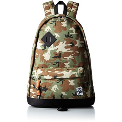 [チャムス] CHUMS デイパック Classic Day Pack Sweat Nylon CH60-0681-Z048-00 Z048 (Booby Camo/Black)