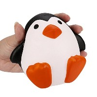 Crazy Squeezeおもちゃ、sacow漫画ペンギンSquishy Slow Rising Decompression Toys