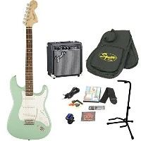 Squier by Fender / Affinity Stratocaster Surf Green エレキギター 初心者16点セット フェンダーアンプSET