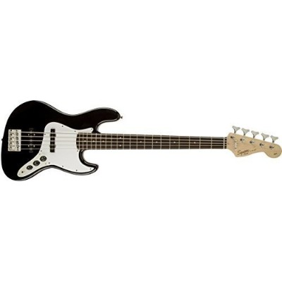 Squier by Fender エレキベース Affinity Series™ Jazz Bass® V, Rosewood Fingerboard, Black