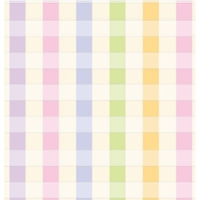 Pastel Plaid Gift Wrapping Paper Roll 24 X 15' by Premium Gift Wrap
