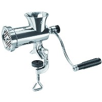 Manual Meat mincer - stainless steel TC-8 by TRE SPADE [並行輸入品]