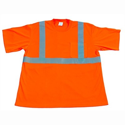 Petra Roc OTS2-3X High Visibility T-Shirt with Pocket - Occunomix Class 2 Moisture Wicking Birdseye...