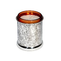 Wentworth Pewter - Love Skull Pewter Candle Votive - H:90mm Dia:75mm