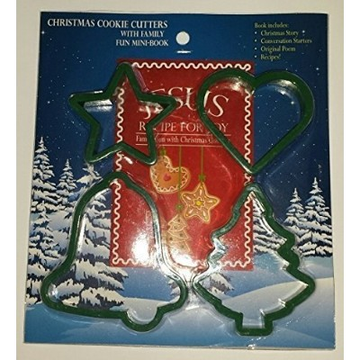 Christmas Cookie Cutters with Family Fun mini-book