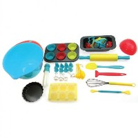 Handstand Kitchen 75-piece Ultimate Real Baking Set for Kids