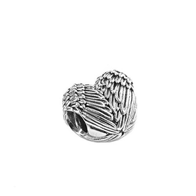 PANDORA (パンドラ) チャーム MULTI 791751 ANGELIC FEATHERS CHARM PLATA [並行輸入品]