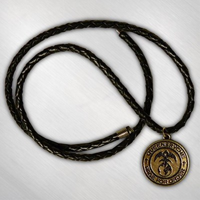 QUEENSRYCHE クイーンズライチ - GOLD RAGE MEDALLION NECKLACE/ネックレス 【公式/オフィシャル】