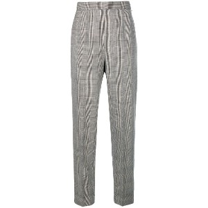 Moschino Vintage check cropped trousers - Unavailable