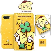 [Hello Kitty POMPOMPURIN Hide Diary キティ 手帳型 ケース] スマホケース iPhoneX iPhone10 iPhone8 iPhone7 iPhone6s...